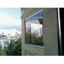Стеклянное остекление балкона, г. Киев, ул. Пушкинская