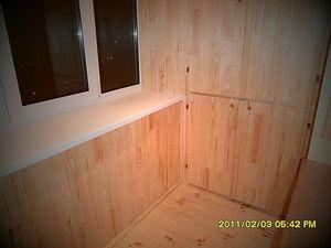 Обшивка балкона під ключ Київ — Технолоджи-Групп