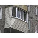 Остекление металлопластиковыми окнами