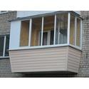 Наружная обшивка балкона в Хрущевке