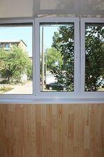 """Внутрішнє оздоблення балкона дерев'яною вагонкою — СК """"Комфорт"""""""