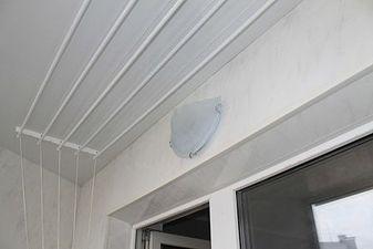 """Внутрішня обшивка балкона пластиковою вагонкою — СК """"Комфорт"""""""