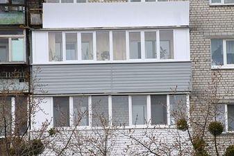 """Балкон під ключ великих розмірів в Києві — СК """"Комфорт"""""""