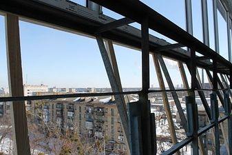 """Вынос балкона по подоконнику в чешке — СК """"Комфорт"""""""