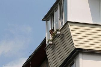 """Ремонт балкона з дахом — СК """"Комфорт"""""""