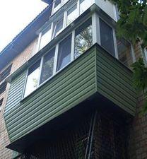 """Винос балкона по підлозі — СК """"Комфорт"""""""