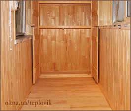 """Настил підлоги на балконі — СК """"Комфорт"""""""