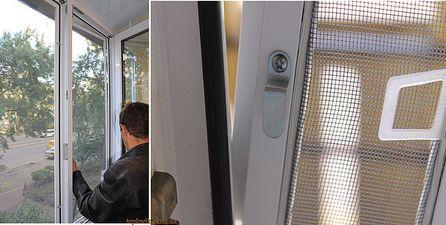 """Москітні сітки на пластикові вікна на Виноградарі — СК """"Комфорт"""""""