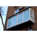Нестандартное остекление балкона: от пола до потолка