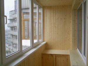 Окна, Балконы под ключ, подоконники, москитные сетки, лоджии, отливы, вынос, обшивка — Украина Пласт