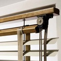 Жалюзи деревянные,бамбуковые,натуральные 50 мм. карниз