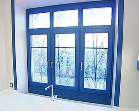 Veka Softline: окно в ванную комнату — VEKA