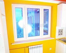 Veka SoftLine 82: окно на кухню — VEKA