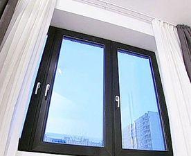 Veka SoftLine 82: ламминированное окно — VEKA