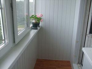 Обшитый балкон изнутри — ВЕЛЕТ
