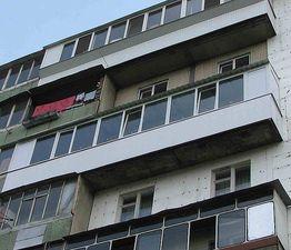 Балкон Almplast остекление — Веселі вiкна