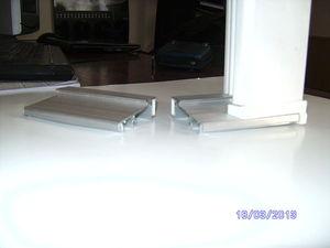 Универсальный алюминиевый порог с термовставкой — Вин-Марк