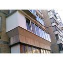 Остекление лоджии с выносом балкона