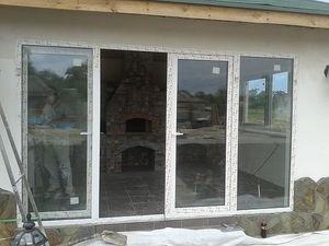 Дверь балконная наклонно-сдвижная — ВДТ (Віконно-Дверні Технології)