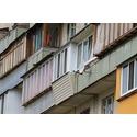 Ремонт балкона в серии дома чешка