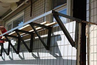 Вынос балкона по подоконнику в 96-й серии дома — Захаров