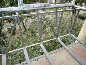 Вынос балкона по полу — Захаров