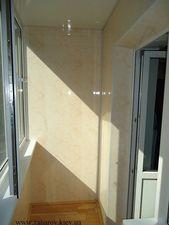 Обшивка балкона пластиковой бесшовной вагонкой — Захаров