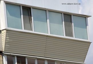 Балкон под ключ 96 серия дома — Захаров