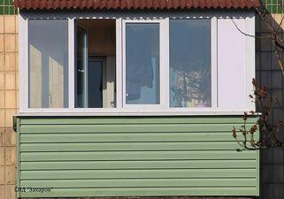 Остекление балконов и лоджии на Лесном массиве — Захаров