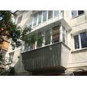 Балкон с выносом 3000-1000 от перилл