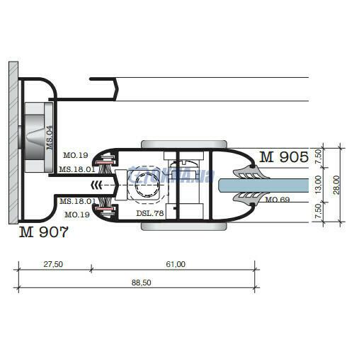 Alumil Μ 900 Aero профили.