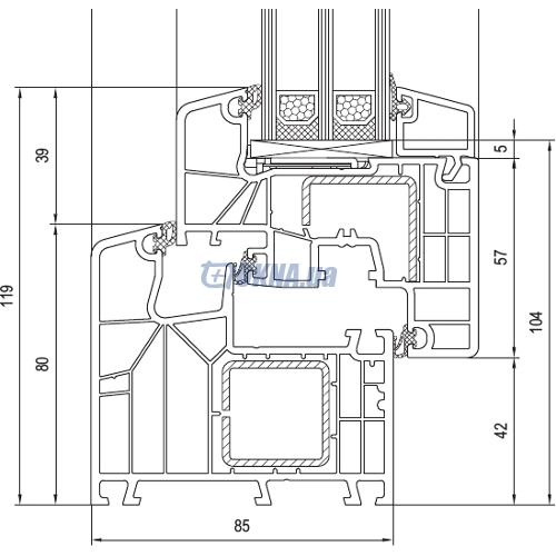 aluplast GmbH Ideal 8000