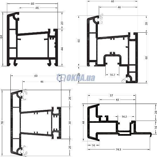 REHAU Ecosol-Design 60