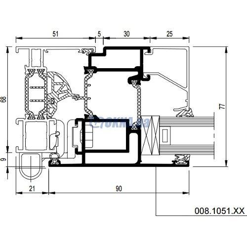 Reynaers Aluminium CS 77 профили.