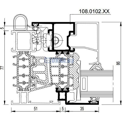 Reynaers Aluminium CS 86 HI