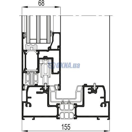 Reynaers Aluminium CP 155 профили.