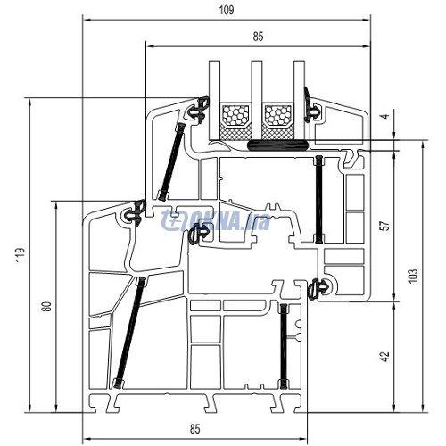 aluplast GmbH energeto 8000
