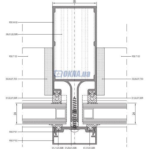 Asas Aluminyum A.S Rescara R50 профили.