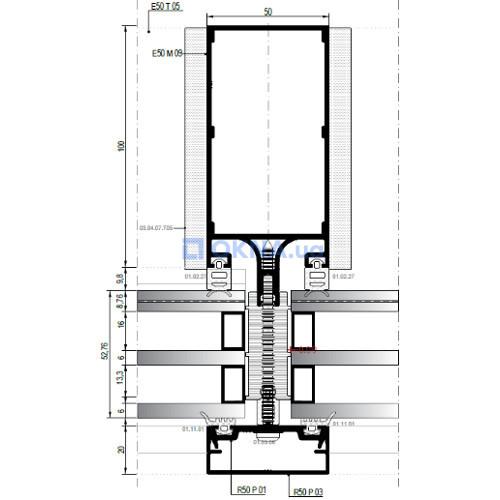 Asas Aluminyum A.S Rescara E50 профили.