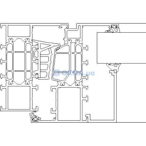 Reynaers Aluminium MasterLine 8 HI+ профили.