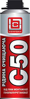 Oчиститель для монтажной пены С50 - 400мл/400г (без прекурсоров)