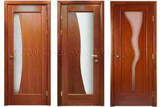 Блок дверной, массив ольхи (полотно+коробка+наличники+тонировка) Изготовление под заказ, модель и тонировка на выбор...